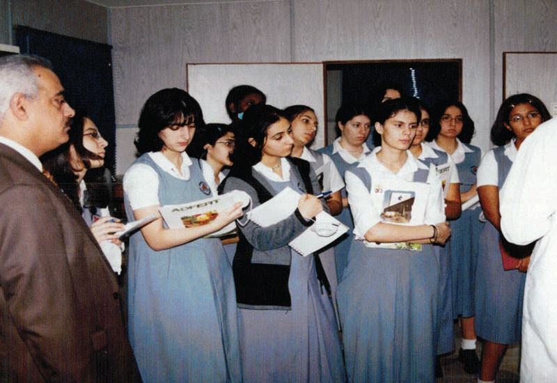 Students From Al Worood School
